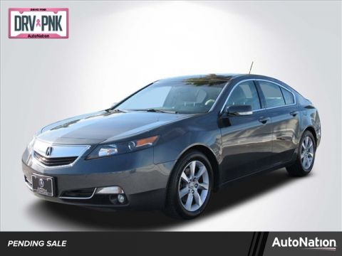Pre-Owned 2013 Acura TL Front Wheel Drive 4-door Mid-Size Passenger Car