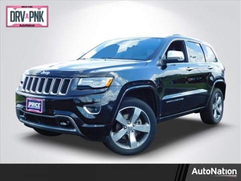 Pre-Owned 2015 Jeep Grand Cherokee Overland Four Wheel Drive 4WD Sport Utility Vehicles