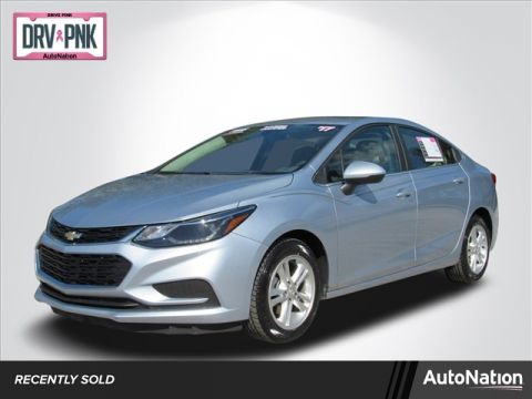 Pre-Owned 2017 Chevrolet Cruze LT Front Wheel Drive 4-door Compact Passenger Car