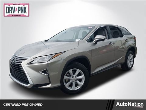 L/Certified 2017 Lexus RX RX 350 Front Wheel Drive 2WD Sport Utility Vehicles