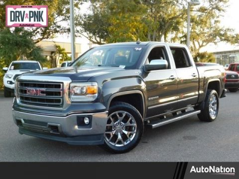 Pre-Owned 2014 GMC Sierra 1500 SLT Four Wheel Drive 4WD Standard Pickup Trucks