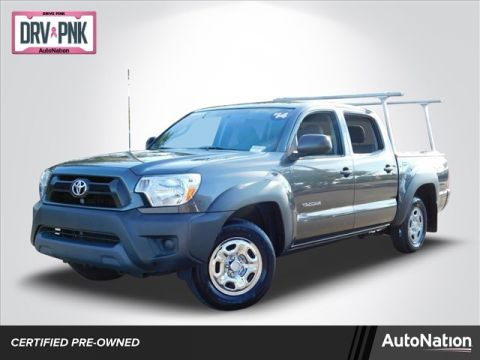 Pre-Owned 2014 Toyota Tacoma Rear Wheel Drive 2WD Small Pickup Trucks