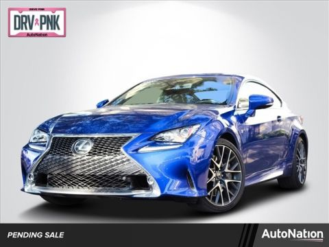 L/Certified 2017 Lexus RC RC 350 Rear Wheel Drive 2-door Sub-Compact Passenger Car