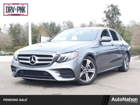 Pre-Owned 2019 Mercedes-Benz E-Class E 300 Rear Wheel Drive 4-door Mid-Size Passenger Car