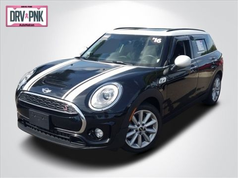 Pre-Owned 2016 MINI Cooper Clubman S Front Wheel Drive 4-door Sub-Compact Passenger Car