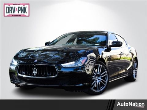 Pre-Owned 2017 Maserati Ghibli S Rear Wheel Drive 4-door Mid-Size Passenger Car
